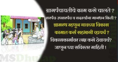Gram Panchayat works