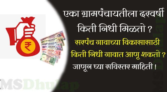 gram panchayat funds