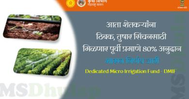 Dedicated Micro Irrigation Fund