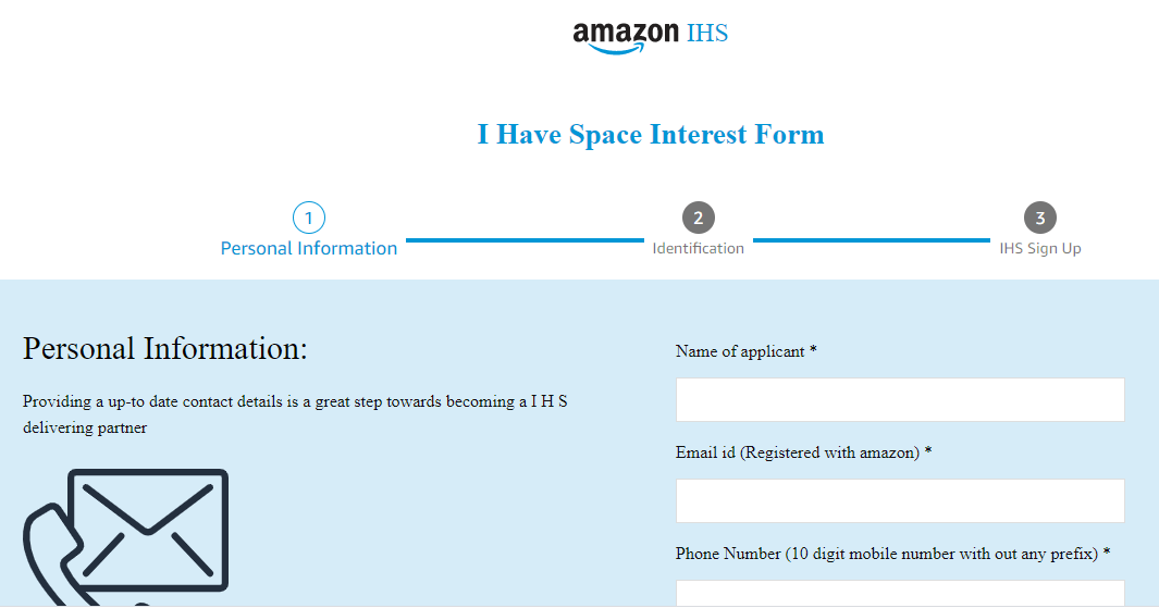 I Have Space Interest Form