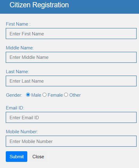 Citizen Registration